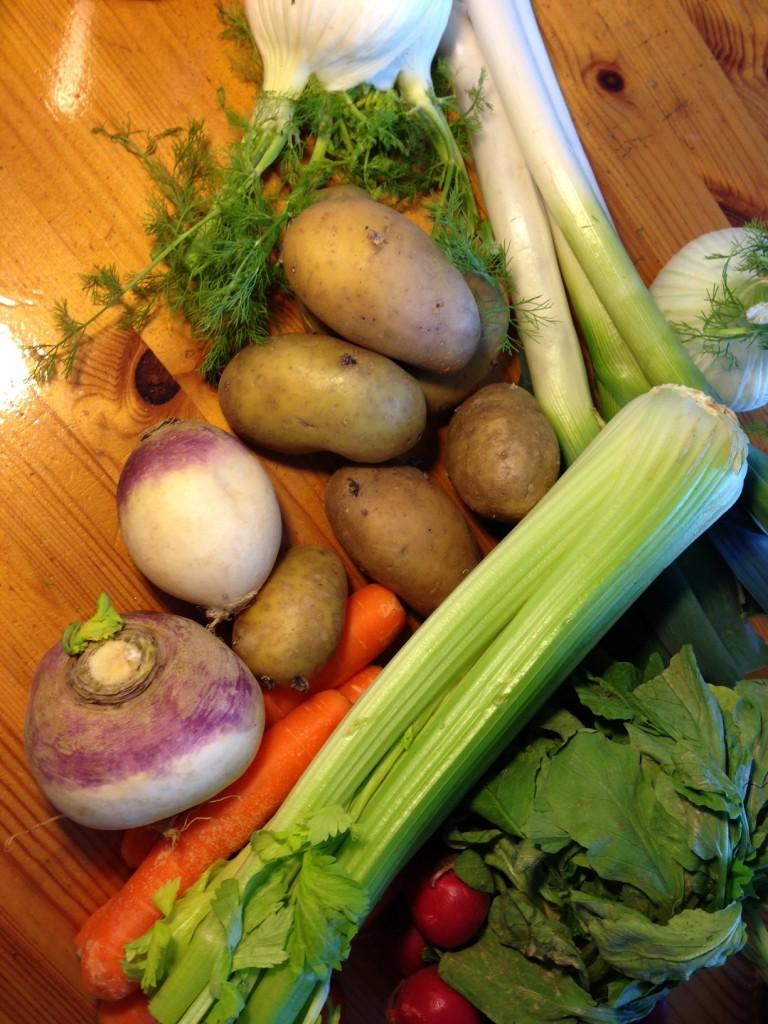 Pot-au-Feu groenten